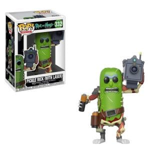 Rick & Morty – Funko Pop Pickle Rick with Laser #333