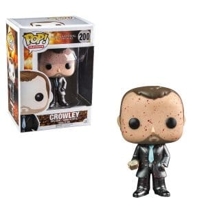 Supernatural – Funko Pop Blood Splatter Metallic Crowley #200