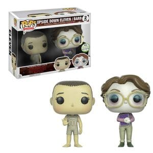 Stranger Things – Funko Pop Eleven & Barb Upside Down #437