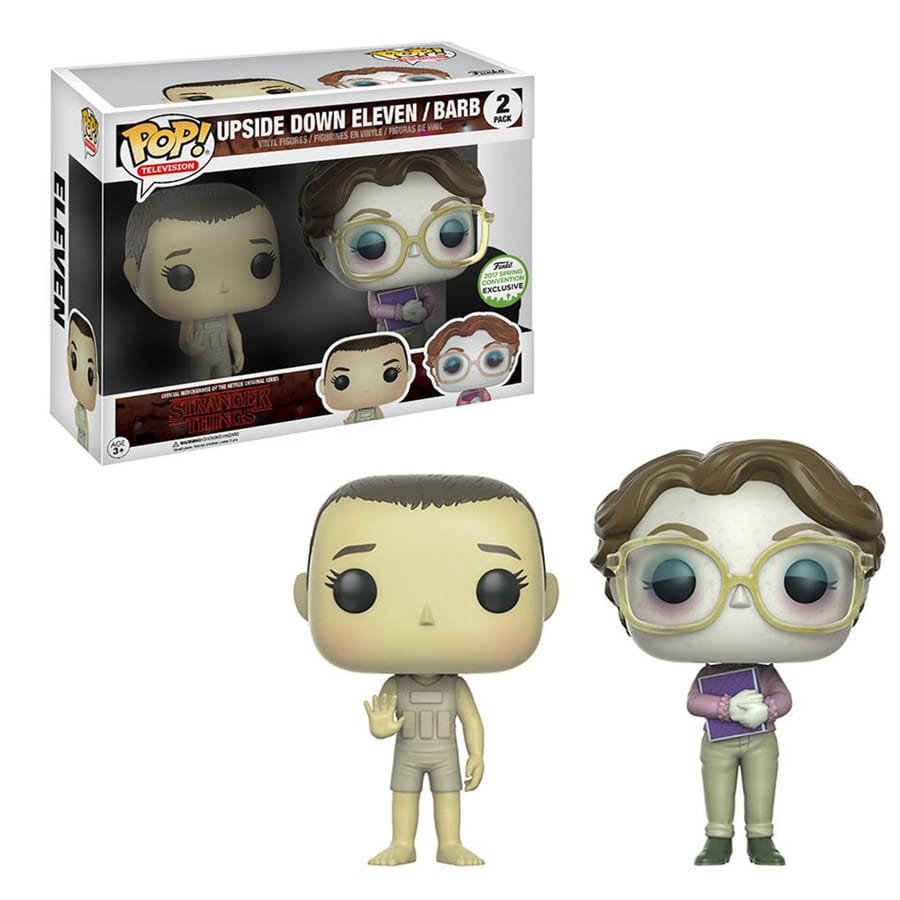 6afc2ad555a Stranger Things – Funko Pop Eleven   Barb Upside Down  437 - TV and ...