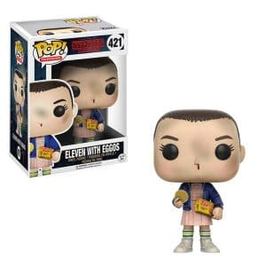 Stanger Things – Funko Pop Eleven avec gaufres Eggo #421