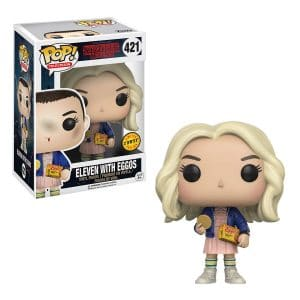 Stanger Things – Funko Pop Eleven avec gaufres Eggo – Version Chase #421