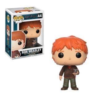Harry Potter – Funko Pop Ron Weasley with Scabbers #44