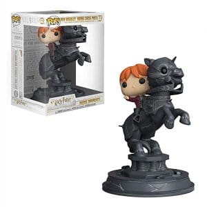 Harry Potter – Funko Pop Movie Moment – Ron Weasley Riding Chess Piece