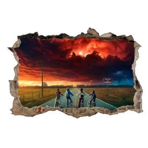 Stickers 3D Stranger Things (30x20cm)