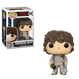 Stranger Things – Funko Pop Dustin Ghostbusters #549