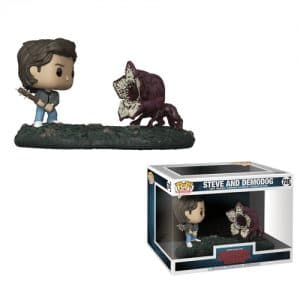 Stranger Things – Funko Pop Steve avec Demodog #728